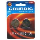 Lithium Button Cells Grundig CR2450 3V 560mAh 2 τεμ.