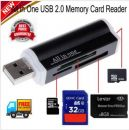 All in 1 Back to School USB Memory Card Reader Adapter for Micro SD SDHC TF M2 - Αναγνώστης καρτών μνήμης σε USB