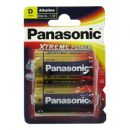 Μπαταρίες Xtreme Power Alkaline Panasonic LR20/D (2 τεμ.)