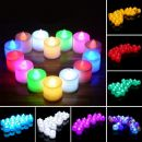 Ηλεκτρονικό κερί - Electric Flameless Candles LED Battery Smokeless for Wedding Party Decor Cute